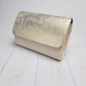 Light beige lak + Przecierane złoto