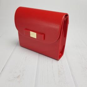 Czerwony lak + Paseczki czerwone