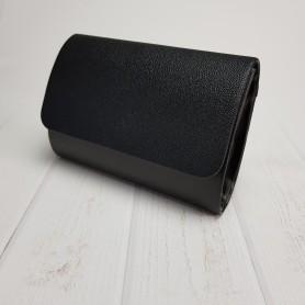 Czarny mat + kuleczki czarne